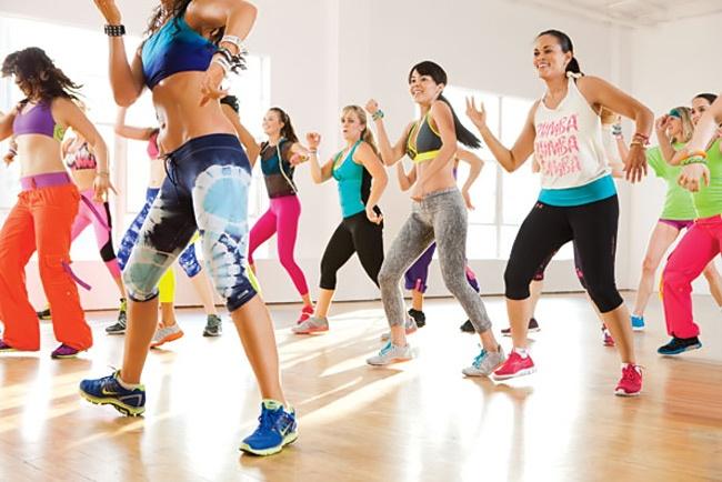 Nhảy Zumba giảm cân