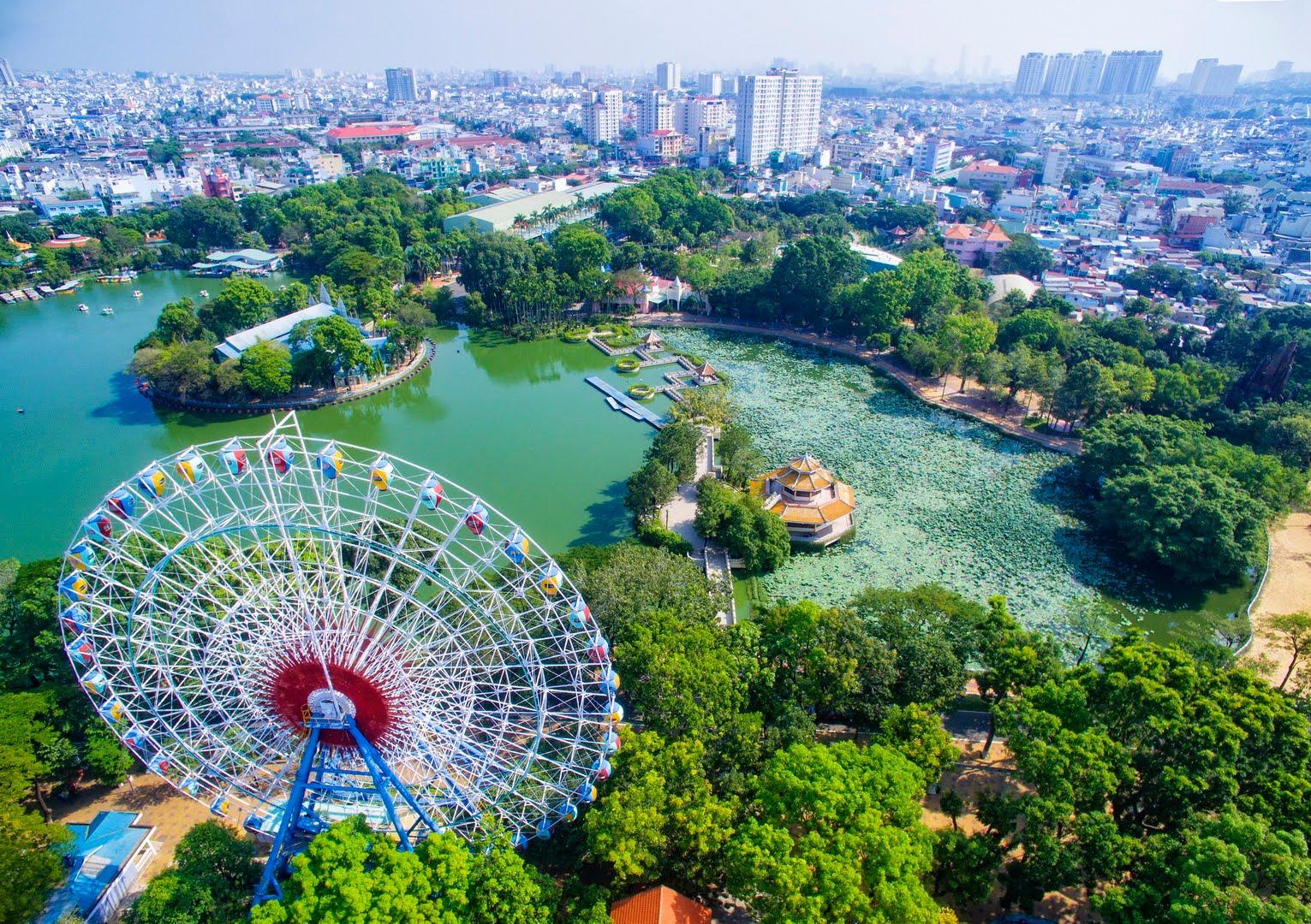 Lễ quốc khánh 2.9 tại công viên văn hóa Đầm Sen