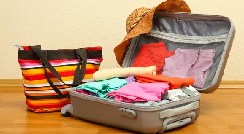 Cách sắp đồ gọn gàng khi du lịch