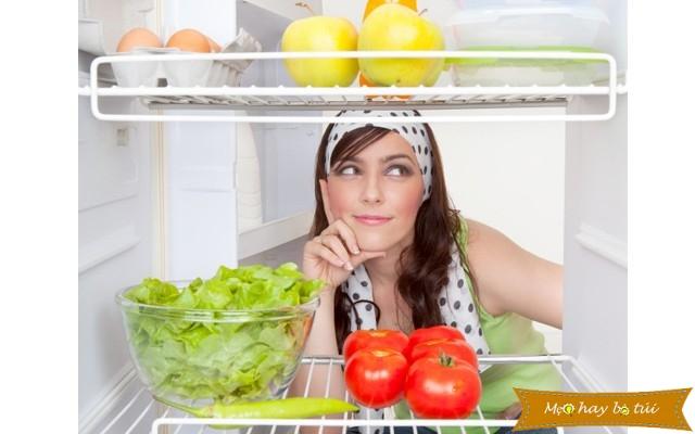 Cách khử mùi hôi tủ lạnh