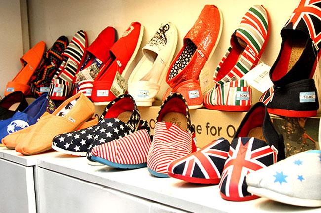 Điệu với giày vải