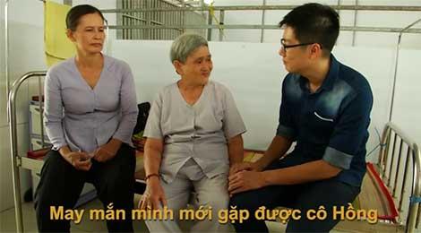 Tình nguyện chăm lo cho người già neo đơn - Nhân vật Nguyễn Thị Hồng - phát sóng ngày 09.08.2016